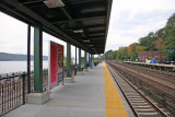 View from Riverdale NY Train Station