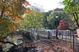Bow Bridge from a Ramble Path