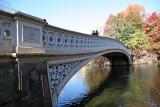 Bow Bridge Leading to a Ramble Path