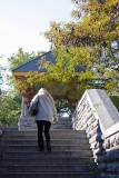 Entering Belvedere Castle Courtyard