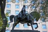 Simon Bolivar on Horseback at CPS & 6th Avenue