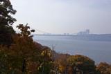 George Washington Bridge, Hudson River & NJ Skyline