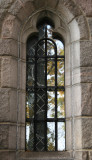 Cloister Window with Park Reflection