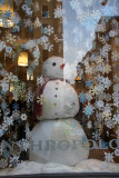 Anthropologie Snowman with Fifth Avenue Skyline