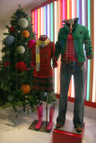 GAP Winter Holidays Window