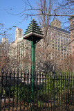 Bird House on Eastside of Gramercy Park - Northwest View