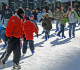Bryant Park Ice Skaters