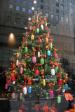 Christmas Tree in 49th Street Store Window