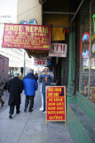 Street Scene - Shoe Repair, Lottery Tickets, ATM's & Haircuts