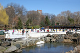 Wollman Ice Skating Rink View from the Duck Pond