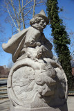 Mother Goose Statue at the Entrance to Rumsey Play Field