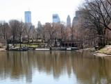 The Lake, Bethesda Fountain & CPS Skyline