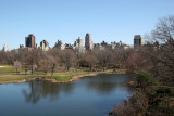 Turtle Pond from Belvedere Castle