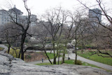 Conservatory Gardens from Fort Fish - Harlem Meer
