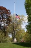Flag near Bethesda Fountain