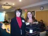 Becky and Phyllis- NIH meeting 2