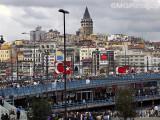 Galata Bridge and Tower, Istanbul, Turkey