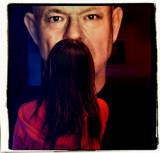 AL as moustache