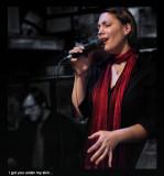Verena Henniger,  jazz vocalist,  the voice of Frankfurt ;-)