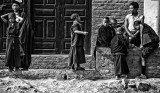 Young Buddhist monks in Nepal