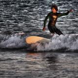 sunset surfin`