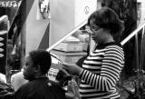 african hair saloon