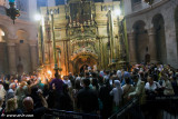 Ceremony of the Holy Fire at Holy Sepulchre Jerusalem 2009