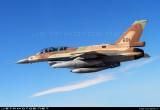 F-16D Barak inflight