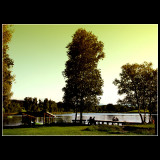 ... At the lake in Weilheim ...