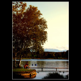 Weilheim lake ...