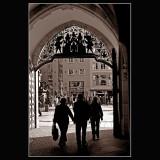 ... Munich city center ...