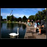 ... in Munich Olympic area ...