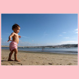 06.06.2010 ... First experience at the beach ...