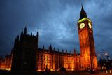 The sky of the Big Ben