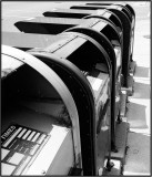 U.S. Mailboxes in B&W