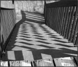 Some Patterns of Shadow on Wooden Steps