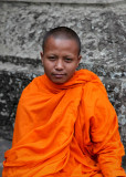 A young monk