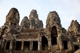 Some of the smiling faces of the Bayon temple
