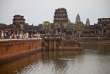 Angkor Wat and some of the 5000 tourists