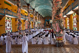 Interior Cao Dai Great Temple