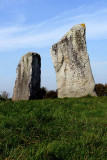 Part of the henge at Avebury