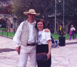 Promoting good Canada - USA relations at the Alamo