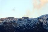 A volcanic eruption in Eyjafjalla volcano