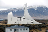 The new church at Stykkishólmur