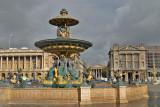 Fontaines de la place de la Concorde