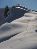 Fresh Tracks near the Gargoyles