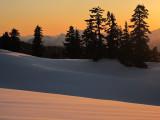 Sunset on Elfin Lakes