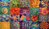 Crazy Carpet Collage - MV Pride of Hawaii
