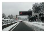 Neige sur l'A8 - 2200