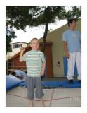 0615 - Max au trampoline
